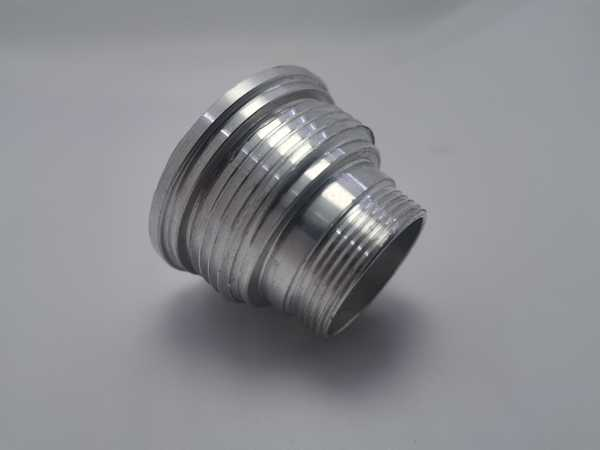 Aluminum alloy precision CNC machining valve connector