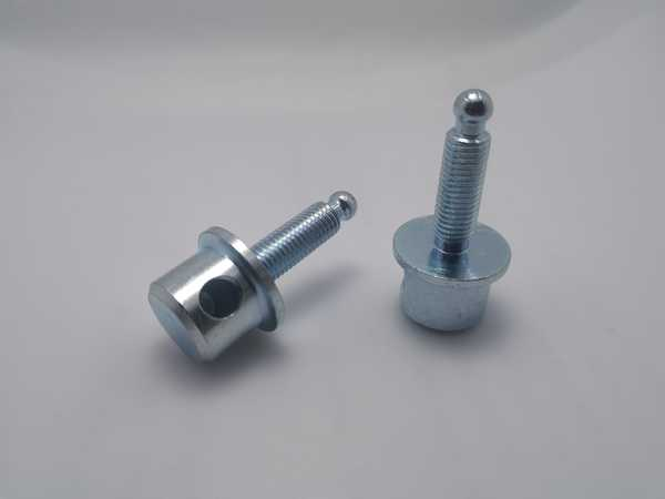 Custom carbon steel screws - galvanized steel