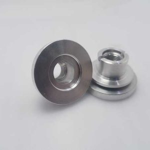 Aluminum alloy CNC lathe machining bearing base