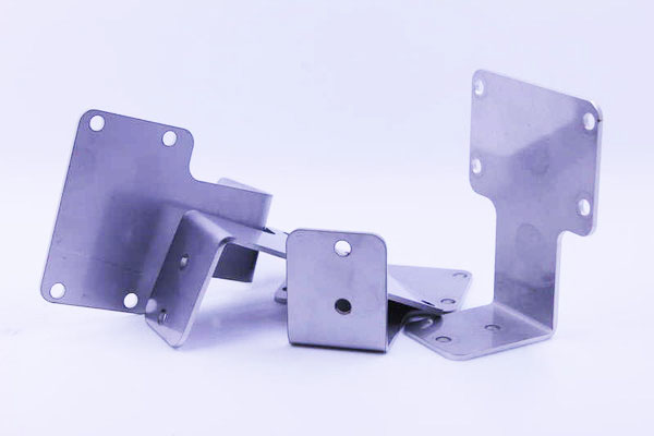 Sheet metal bending bracket