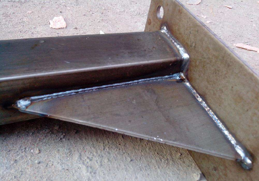 Steel welded structural parts